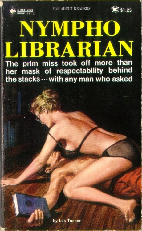 """Nympho Librarian"" by Les Tucker"
