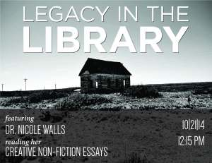 Legacy in the LibraryOCT14
