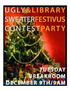 Ugly Sweater Contest poster14